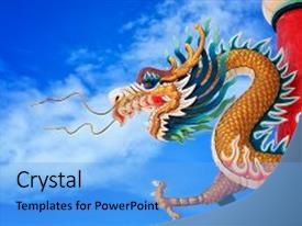 golden dragon powerpoint templates | crystalgraphics, Powerpoint templates