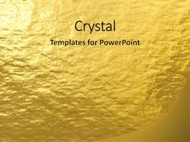 Decorative powerpoint templates crystalgraphics cool new ppt enhanced with gold foil metal decorative texture theme and a yellow colored foreground toneelgroepblik Images