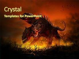 hell powerpoint templates | crystalgraphics, Modern powerpoint