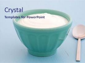 yogurt powerpoint templates   crystalgraphics, Presentation templates