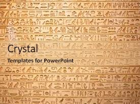 Egyptian powerpoint templates crystalgraphics colorful slides enhanced with history hieroglyphs backdrop and a coral colored foreground toneelgroepblik Choice Image