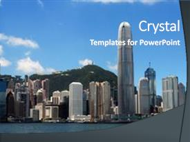 hong kong powerpoint templates | crystalgraphics, Modern powerpoint