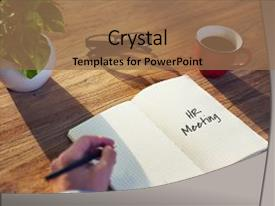 hr help desk powerpoint templates | crystalgraphics, Presentation templates