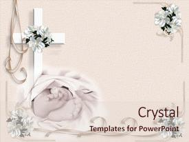 Baby dedication powerpoint templates crystalgraphics colorful ppt layouts enhanced with illustration composition for baby baptism backdrop and a lemonade colored foreground toneelgroepblik Image collections