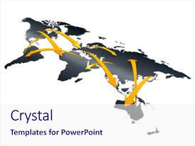 Import export powerpoint templates crystalgraphics slide set enhanced with import export 3d image trade networking business background and a sky toneelgroepblik Gallery