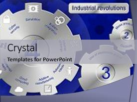 industrial revolution powerpoint templates | crystalgraphics, Modern powerpoint