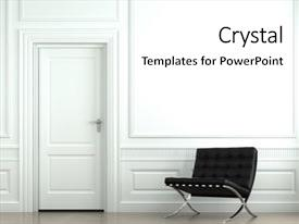 Interior design powerpoint templates crystalgraphics beautiful presentation theme featuring interior design of classic white backdrop and a white colored foreground toneelgroepblik Images