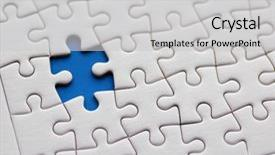 powerpoint templates puzzle image collections - powerpoint, Modern powerpoint