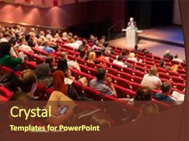 Academic powerpoint templates crystalgraphics beautiful ppt layouts featuring lecture hall academic education backdrop and a tawny brown colored foreground toneelgroepblik Image collections