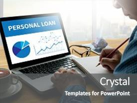 bank loan powerpoint templates | crystalgraphics, Presentation templates
