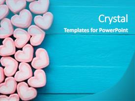 Love powerpoint templates crystalgraphics a presentation featuring heart theme and valentine background image and a teal toneelgroepblik Image collections