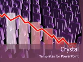 Manpower increase powerpoint templates crystalgraphics amazing slides having manpower increase rising unemployment rates economic backdrop and a violet colored foreground toneelgroepblik Image collections