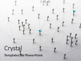 network powerpoint templates | crystalgraphics, Modern powerpoint