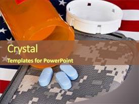 Army medicine powerpoint templates crystalgraphics ppt featuring military health care and medicine image and a tawny brown colored foreground toneelgroepblik Gallery