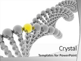molecular biology powerpoint templates | crystalgraphics, Presentation templates