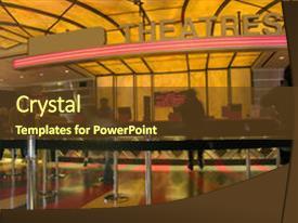 movie theater powerpoint templates   crystalgraphics, Modern powerpoint