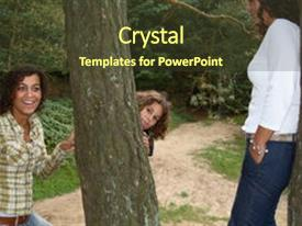 Multi cultural powerpoint templates crystalgraphics crystal powerpoint template with multi cultural sisters teasing eachother themed background and a tawny brown toneelgroepblik Images