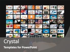 multimedia powerpoint templates | crystalgraphics, Modern powerpoint