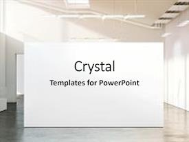 Art portfolio powerpoint templates crystalgraphics a presentation featuring museum with contemporary art exhibition image and a white colored foreground toneelgroepblik Gallery