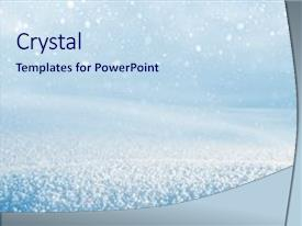 falling snow powerpoint templates | crystalgraphics, Powerpoint templates