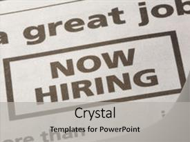 now hiring template word