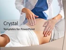 Obstetrics powerpoint templates crystalgraphics beautiful ppt with obstetrics obstetrical examination background and a light gray colored foreground toneelgroepblik Image collections