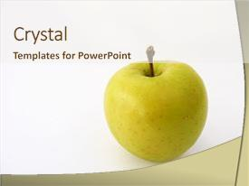 Apple logo powerpoint templates crystalgraphics ppt featuring pictures for advertisement and logo image and a cream colored foreground toneelgroepblik Choice Image