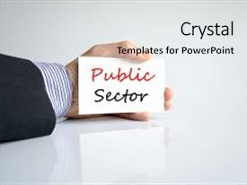 Public provident fund powerpoint templates crystalgraphics crystal powerpoint template with primary education prevention public sector themed background and a light gray toneelgroepblik Images