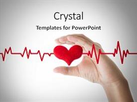 ecg powerpoint templates | crystalgraphics, Powerpoint templates