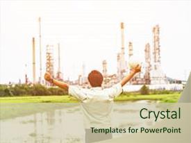 petroleum engineering powerpoint templates | crystalgraphics, Modern powerpoint