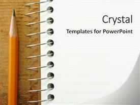 Lined paper powerpoint templates crystalgraphics cool new presentation theme with small pad of lined paper backdrop and a white colored foreground toneelgroepblik Images