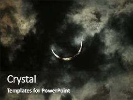 Eclipse powerpoint templates crystalgraphics ppt layouts featuring solar in kenya dark background and a dark gray colored toneelgroepblik Image collections