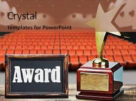 Service award powerpoint templates crystalgraphics beautiful ppt featuring star award for service image and a red colored foreground toneelgroepblik Choice Image