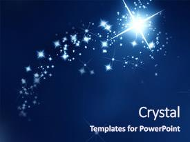 shooting stars powerpoint templates | crystalgraphics, Modern powerpoint