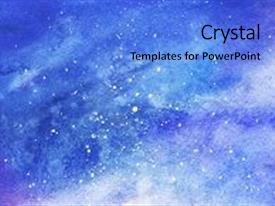 Powerpoint template abstract purple themed background with light bcrystalb powerpoint template with starry space galaxy nebula background toneelgroepblik Choice Image