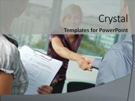 Job interview powerpoint templates crystalgraphics i love this slide set with successful happy employee background and a toneelgroepblik Choice Image