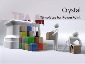 team building powerpoint templates | crystalgraphics, Modern powerpoint