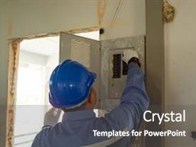 control engineering powerpoint templates | crystalgraphics, Modern powerpoint