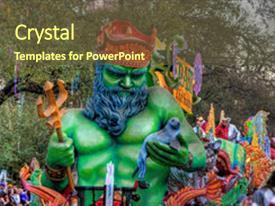 mardi gras powerpoint templates | crystalgraphics, Powerpoint templates