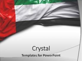 Uae flag powerpoint templates crystalgraphics cool new presentation enhanced with uae flag theme and a white colored foreground toneelgroepblik Gallery