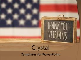 veterans powerpoint templates | crystalgraphics, Powerpoint templates