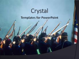 civil war powerpoint templates | crystalgraphics, Powerpoint templates