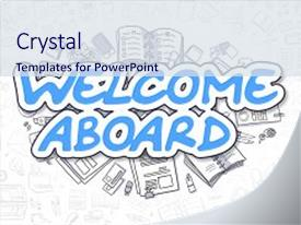 welcome powerpoint templates | crystalgraphics, Powerpoint templates