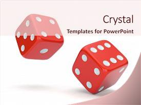 dice powerpoint templates | crystalgraphics, Modern powerpoint