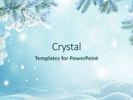 snow powerpoint templates | crystalgraphics, Powerpoint templates