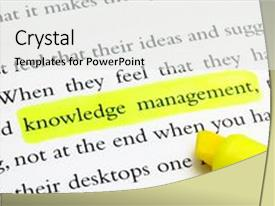 Knowledge management powerpoint templates crystalgraphics theme with words highlighted background and a white colored foreground toneelgroepblik Gallery