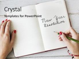 Resolution powerpoint templates crystalgraphics a ppt with aspire year resolution aspirations passion motivation background and a light gray colored toneelgroepblik Images
