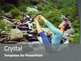 yoga powerpoint templates | crystalgraphics, Presentation templates