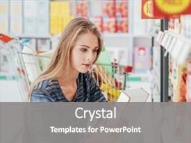 5000 grocery powerpoint templates w grocery themed backgrounds ppt theme consisting of young woman doing shopping background and a colored foreground toneelgroepblik Image collections